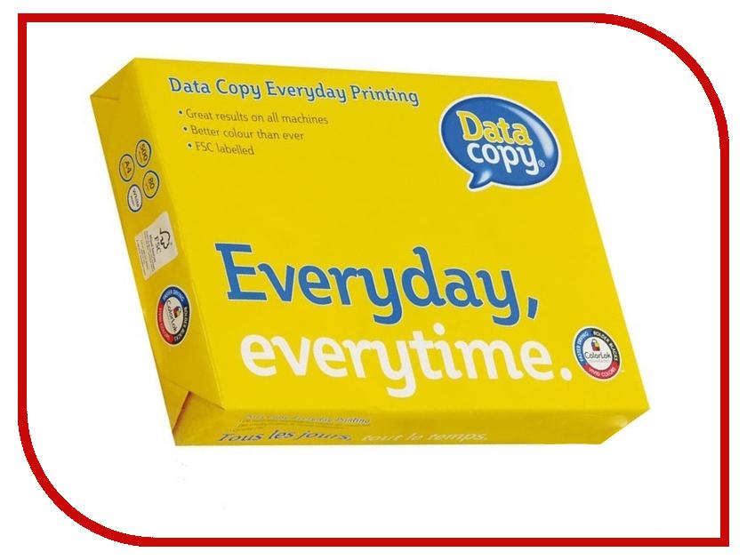Бумага DATA COPY A5 80g/m2 500 листов A+ бумага kym lux classic a4 80g m2 500 листов