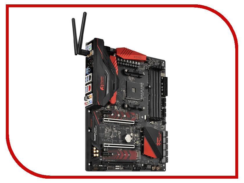 Материнская плата ASRock X370 Professional Gaming материнская плата asrock b150m pro4s s1151 b150 matx