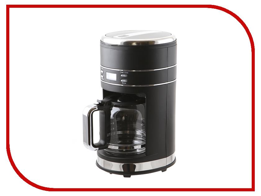 Кофеварка Kitfort KT-704-2 Black кофеварка kitfort кт 704 2 черная