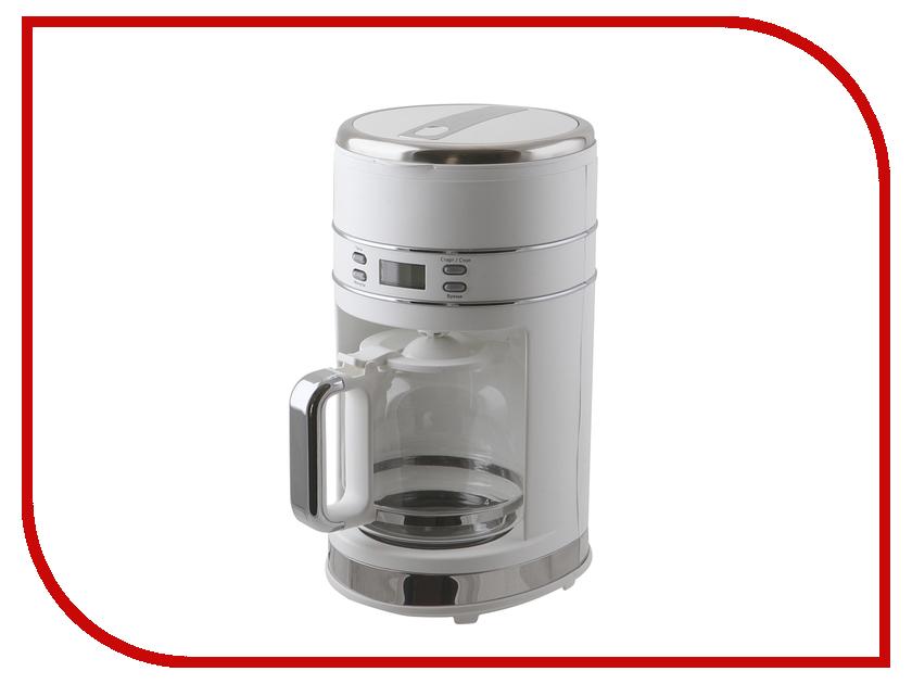 Кофеварка Kitfort KT-704-1 White kitfort kt 514 1 blue стеклоочиститель
