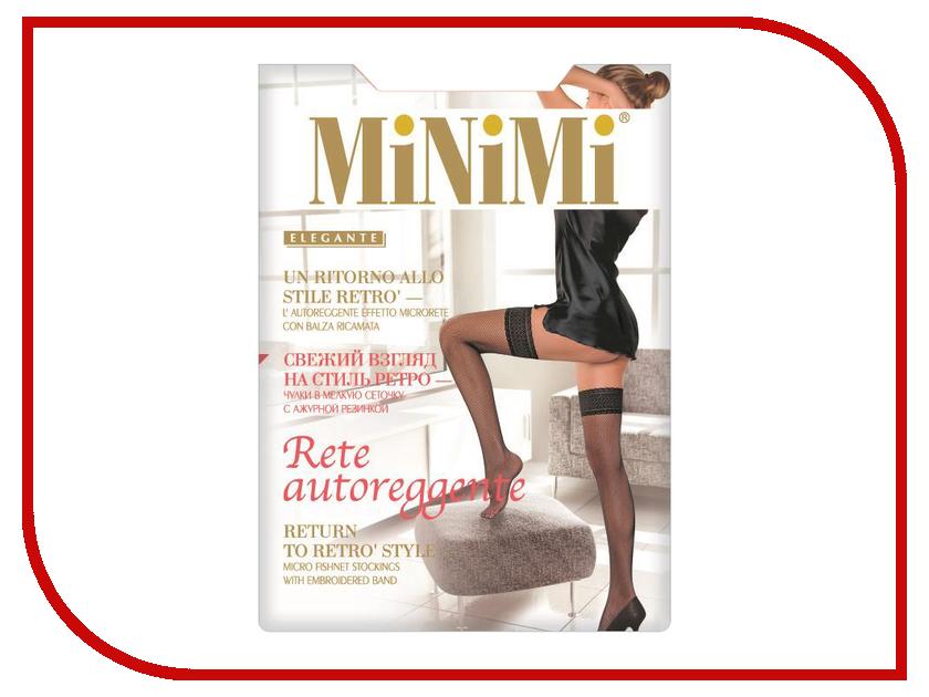 Чулки MiNiMi Rete размер 3/4 плотность 20 Den Nero цены онлайн