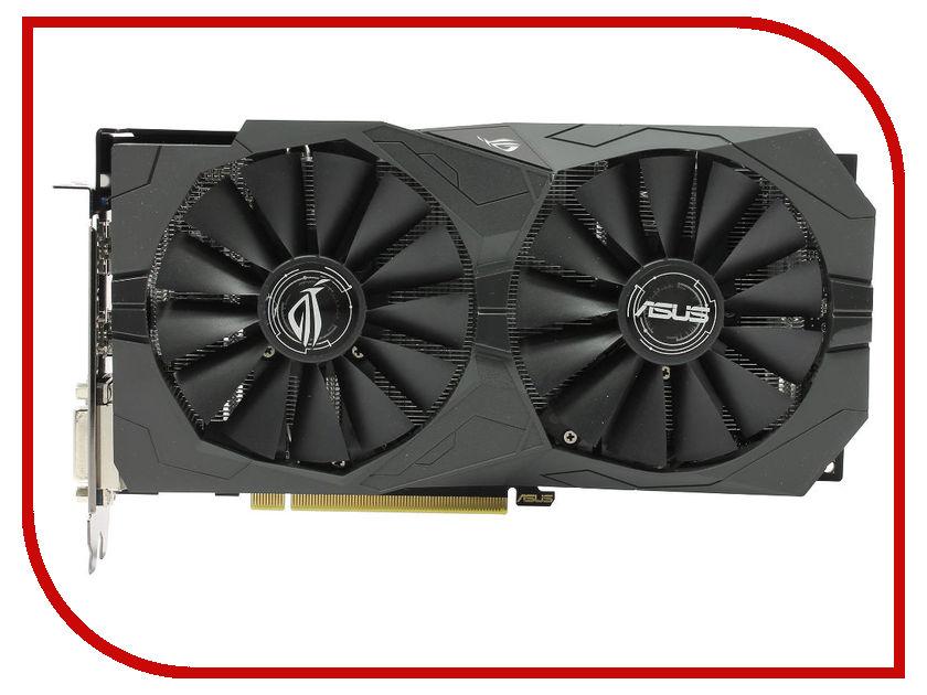 Видеокарта ASUS Radeon RX 570 1244Mhz PCI-E 3.0 4096Mb 7000Mhz 256 bit 2xDVI HDMI HDCP Strix Gaming ROG-STRIX-RX570-4G-GAMING видеокарта asus radeon rx 570 rog strix rx570 o4g gaming 4гб gddr5 oc ret