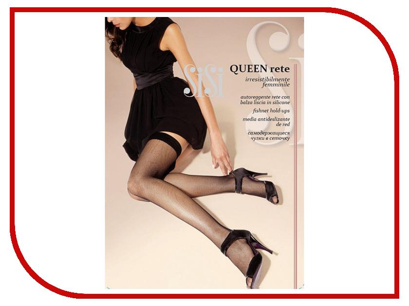 Чулки SiSi Queen Rete размер 3/4 плотность 20 Den Nero sisi queen чулки 40 den цвет daino размер 4