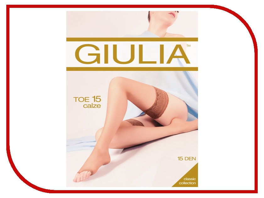 Чулки Giulia TOE размер 1 / 2