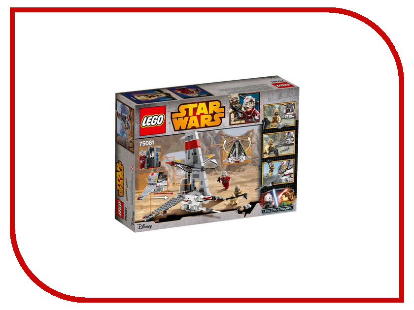 Конструктор Lego Star Wars Скайхоппер T-16 75081<br>