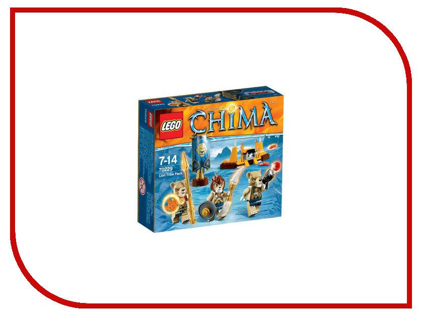 Конструктор Lego Legends of Chima Лагерь Клана Львов 70229