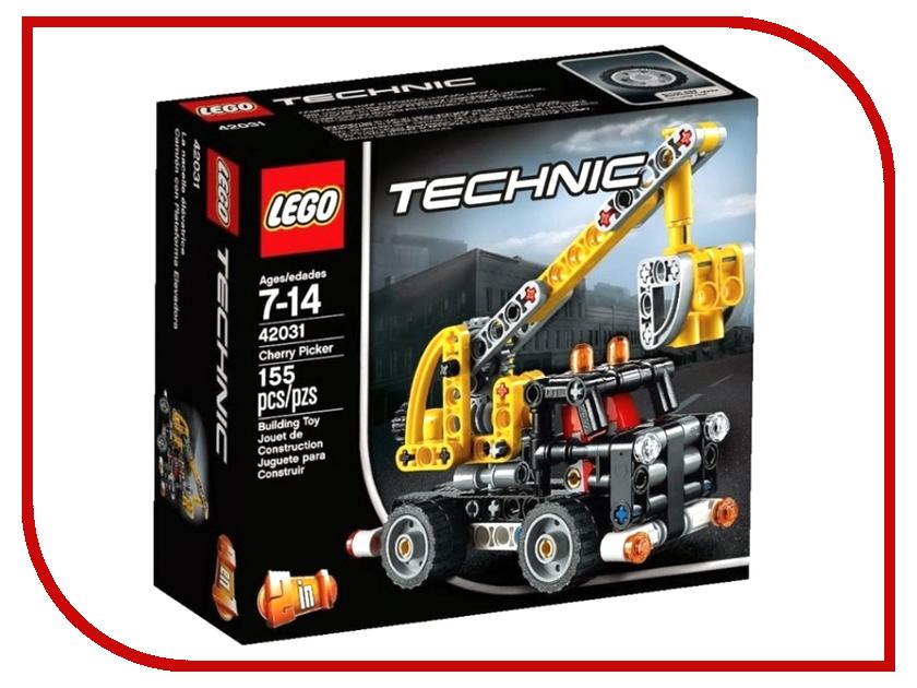 Конструктор Lego Technic Ремонтный автокран 42031 lego technic ремонтный автокран 42031