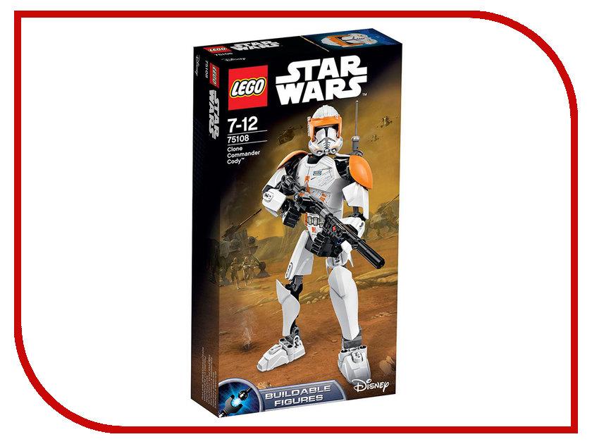 Конструктор Lego Star Wars Клон-коммандер Коди 75108 aluminum alloy follow focus speed crank for slr camera black