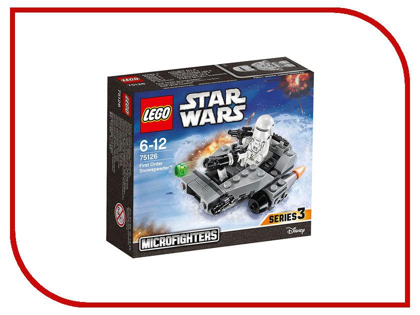 Конструктор Lego Star Wars Снежный спидер Первого Ордена 75126 lego star wars 75166 лего звездные войны спидер первого ордена