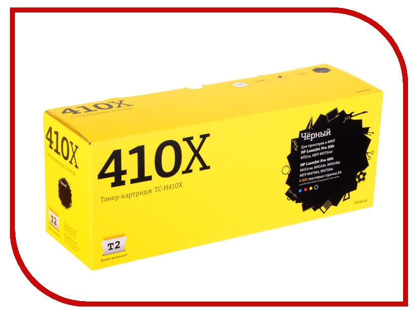 Картридж T2 TC-H410X Black для HP LJ Pro 300 M351a/400 M451nw с чипом картридж t2 для hp tc h85a laserjet p1102 1102w pro m1132 m1212nf m1214nfh canon i sensys lbp6000 cartrige 725 1600 стр с чипом