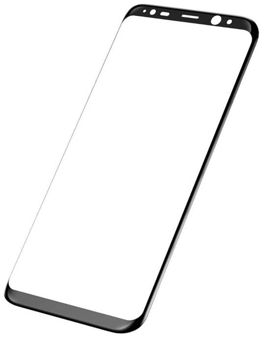 Аксессуар Защитное стекло Brosco для Samsung Galaxy S8 Full Screen Black SS-S8-3D-GLASS-BLACK аксессуар защитное стекло для samsung galaxy s8 smarterra full cover glass black sfcgs8bk