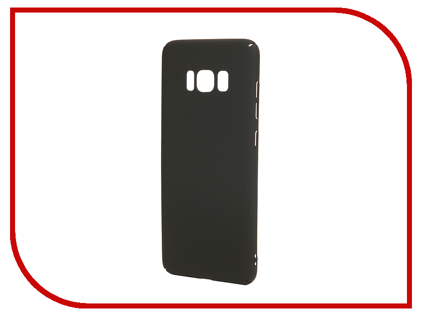 Аксессуар Чехол для Samsung Galaxy S8 BROSCO Black SS-S8-4SIDE-ST-BLACK аксессуар чехол для samsung galaxy s8 plus brosco transparent ss s8p tpu transparent