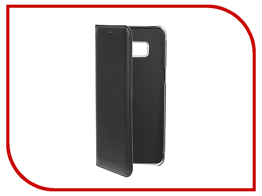 Аксессуар Чехол Samsung Galaxy S8 BROSCO Black SS-S8-BOOK-BLACK аксессуар чехол htc u ultra brosco black htc uu book black