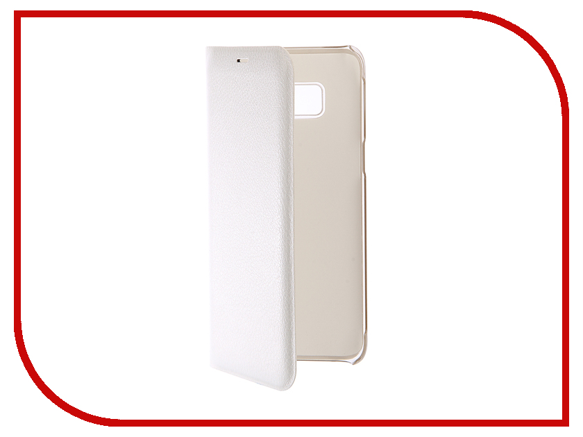 Аксессуар Чехол Samsung Galaxy S8 BROSCO White SS-S8-BOOK-WHITE краска в д bindo 20 основа bw полуматовая dulux 2 5 л