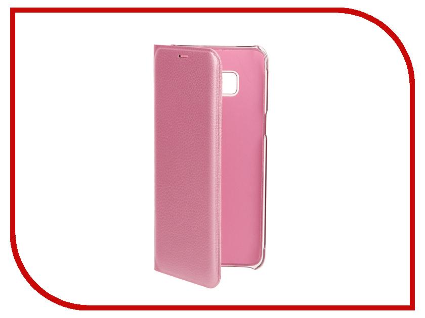 Аксессуар Чехол Samsung Galaxy S8 BROSCO Pink SS-S8-BOOK-PINK аксессуар чехол samsung galaxy s8 plus brosco black ss s8p 4side st black