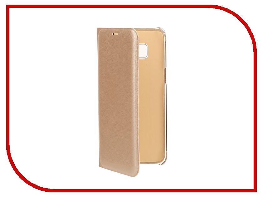 Аксессуар Чехол Samsung Galaxy S8 BROSCO Gold SS-S8-BOOK-GOLD аксессуар чехол samsung galaxy s8 brosco white ss s8 book white