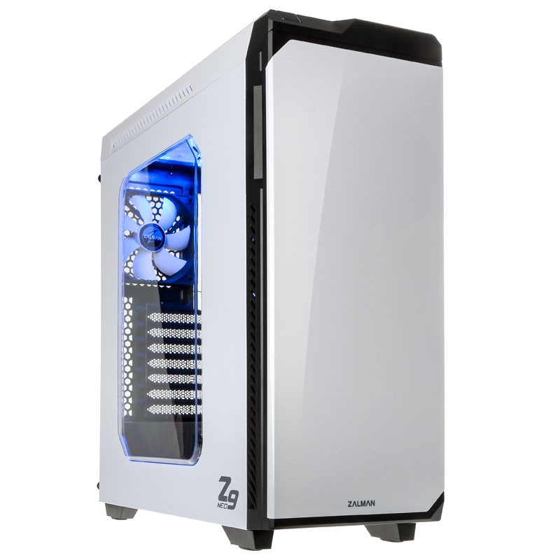 Корпус Zalman Miditower Z9 NEO White корпус zalman miditower z9 plus neo black