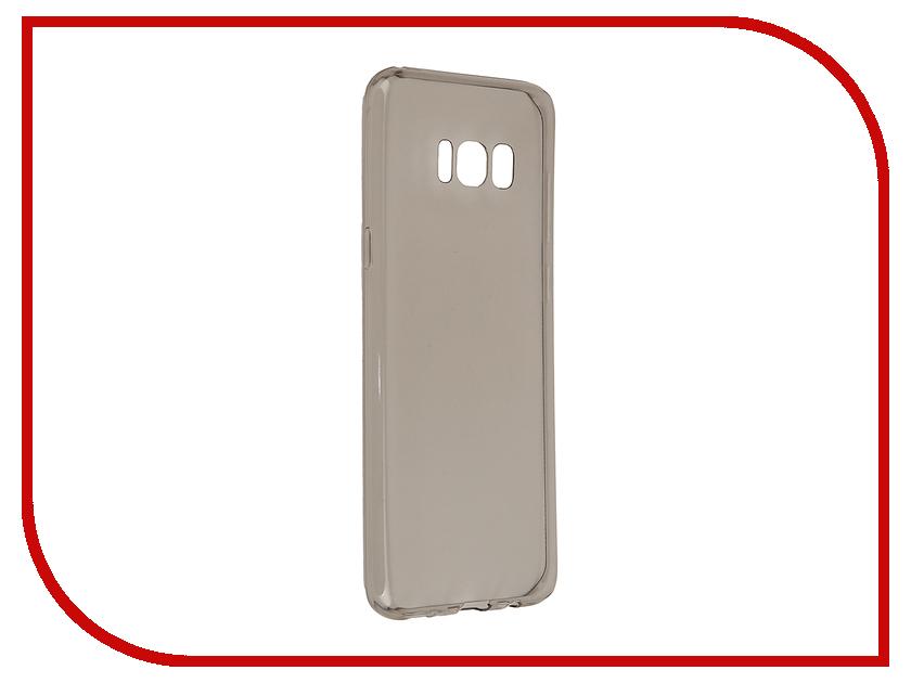Аксессуар Чехол Samsung Galaxy S8 Plus BROSCO Black SS-S8P-TPU-BLACK аксессуар чехол samsung galaxy s8 brosco white ss s8 book white