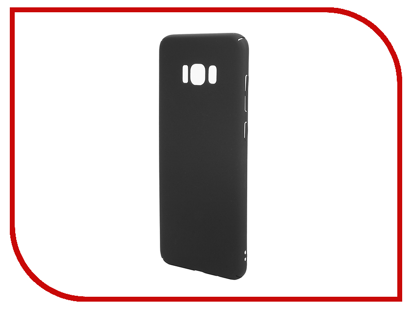 Аксессуар Чехол для Samsung Galaxy S8 Plus BROSCO Black SS-S8P-4SIDE-ST-BLACK аксессуар чехол для samsung galaxy s8 plus brosco transparent ss s8p tpu transparent
