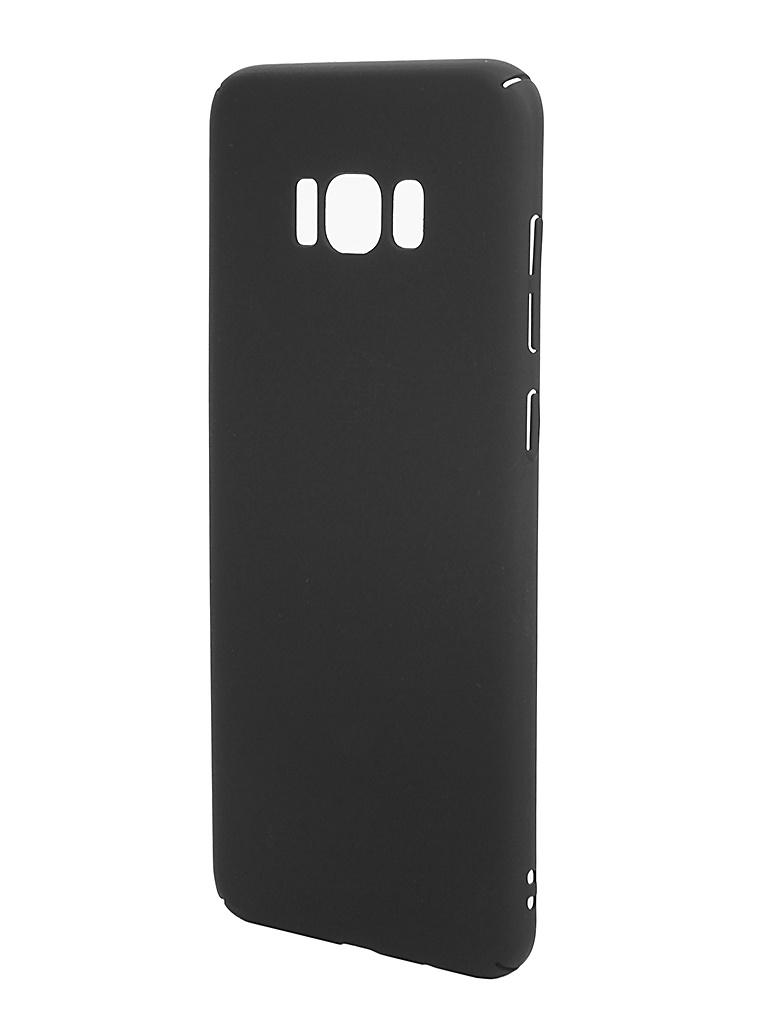 Аксессуар Чехол Brosco для Samsung Galaxy S8 Plus Black SS-S8P-4SIDE-ST-BLACK