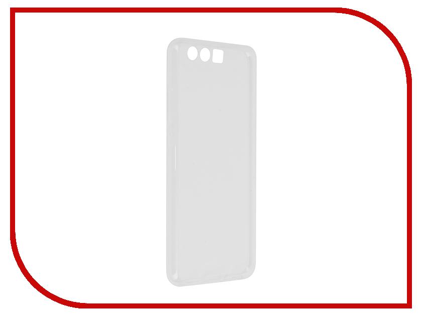 Аксессуар Чехол Huawei P10 BROSCO Silicone Transparent HW-P10-TPU-TRANSPARENT