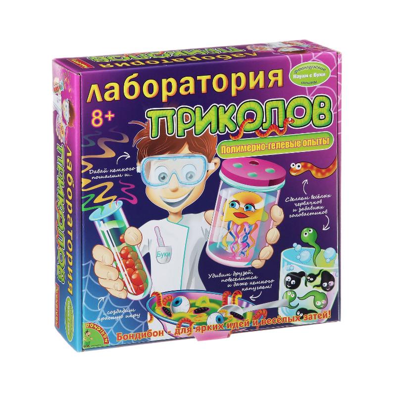 Игра Bondibon Лаборатория приколов BB1123-1