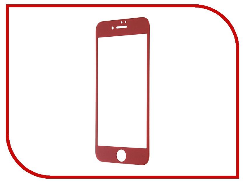 Аксессуар Защитное стекло Svekla 3D для APPLE iPhone 7 Red frame ZS-SVAP7-3DRED аксессуар защитное стекло activ 3d red для apple iphone 7 plus 69759