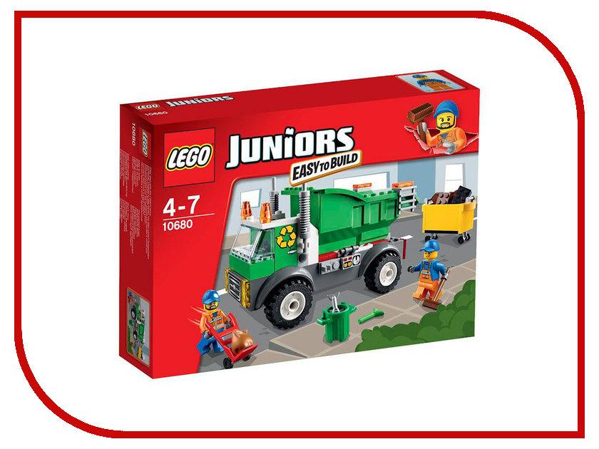 Конструктор Lego Juniors Мусоровоз 10680