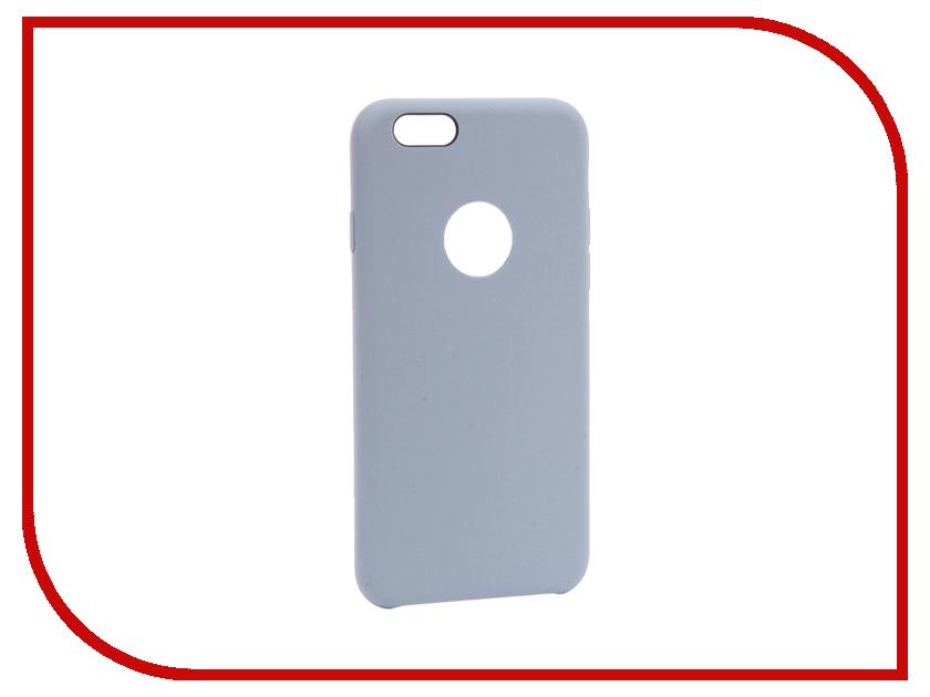 все цены на  Аксессуар Чехол Rock Space Silicon Touch для iPhone 6 / 6s Blue 13623  онлайн