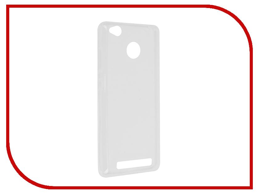 Аксессуар Чехол Xiaomi Redmi 3S/3 Pro Svekla Transparent SV-XIRED3S-WH аксессуар чехол lenovo vibe c2 k10a40 svekla transparent sv lek10a40 wh