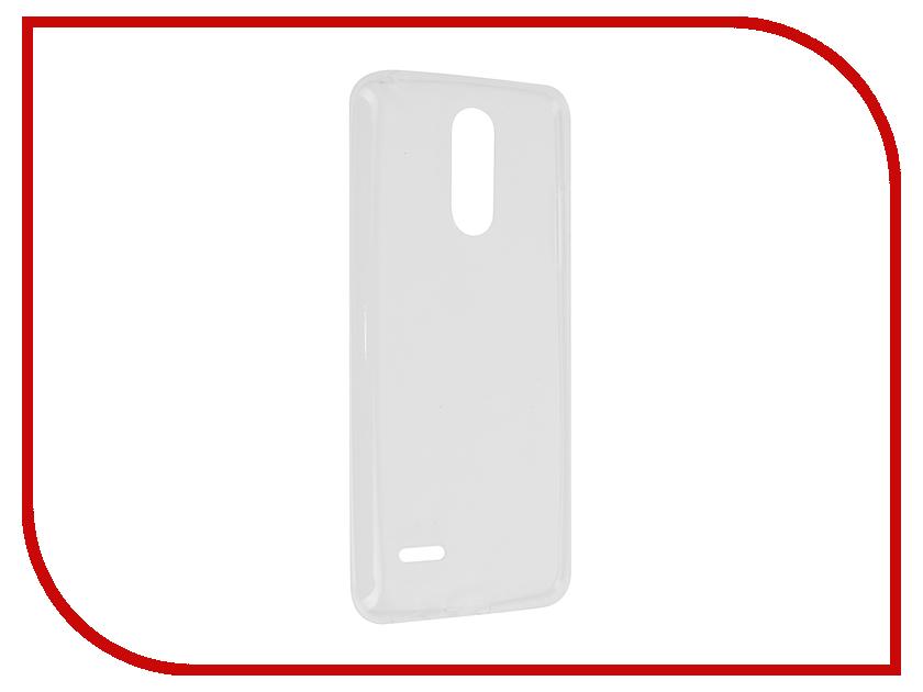Аксессуар Чехол LG K8 2017 Svekla Transparent SV-LGK82017-WH
