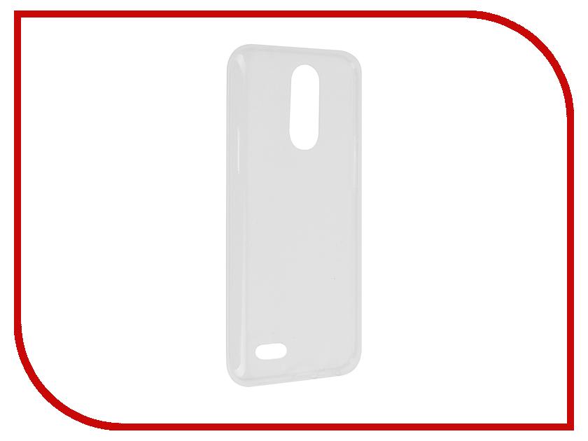 Аксессуар Чехол LG K10 2017 M250 Svekla Transparent SV-LGM250-WH аксессуар чехол lenovo vibe c2 k10a40 svekla transparent sv lek10a40 wh