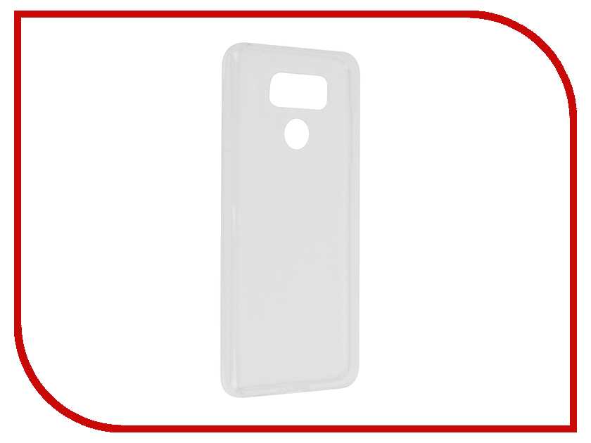 Аксессуар Чехол для LG G6 Svekla Transparent SV-LGG6-WH цена