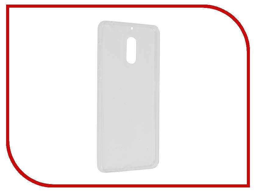 Аксессуар Чехол Nokia 6 Svekla Transparent SV-NO6-WH