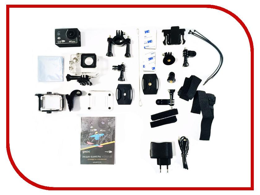 Экшн-камера Gmini MagicEye HDS5100 Black supra hds 106