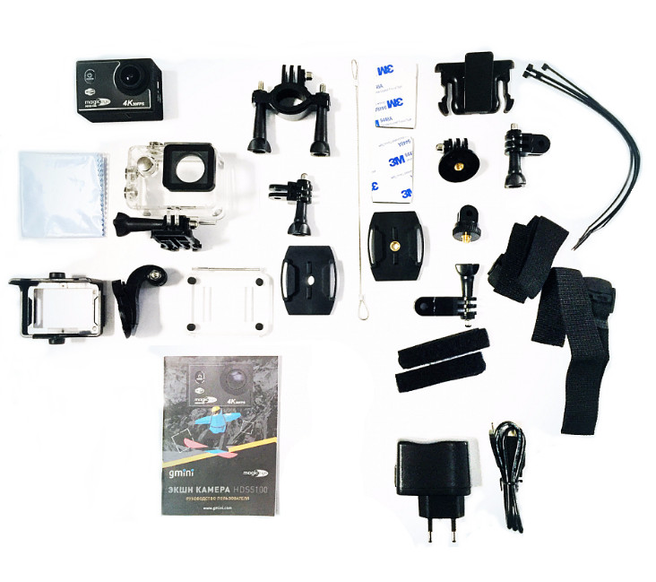 Экшн-камера Gmini MagicEye HDS5100 Black цена