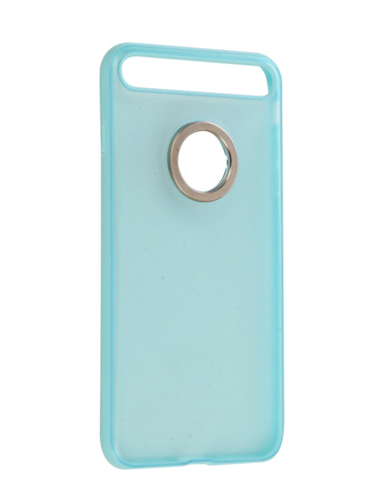 Аксессуар Чехол Rock для APPLE iPhone 7 Plus Space Ring Holder Light-Blue 47574 аксессуар чехол rock jazz series для iphone 6 plus red