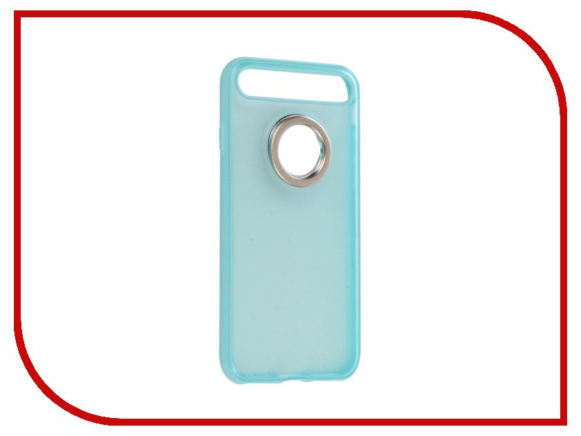 Аксессуар Чехол Rock Space Ring Holder для iPhone 7 Light-Blue 47536 аксессуар чехол rock touch series silicone для iphone 7 plus rpc1153 light blue