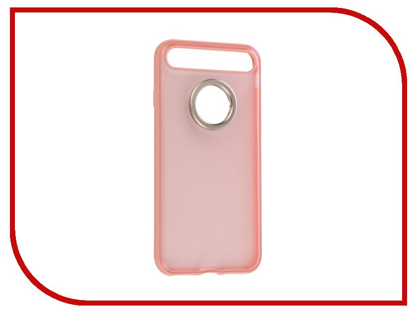 Аксессуар Чехол Rock Space Ring Holder для iPhone 7 Light-Pink 47550 аксессуар чехол rock elite series для iphone 7 plus black