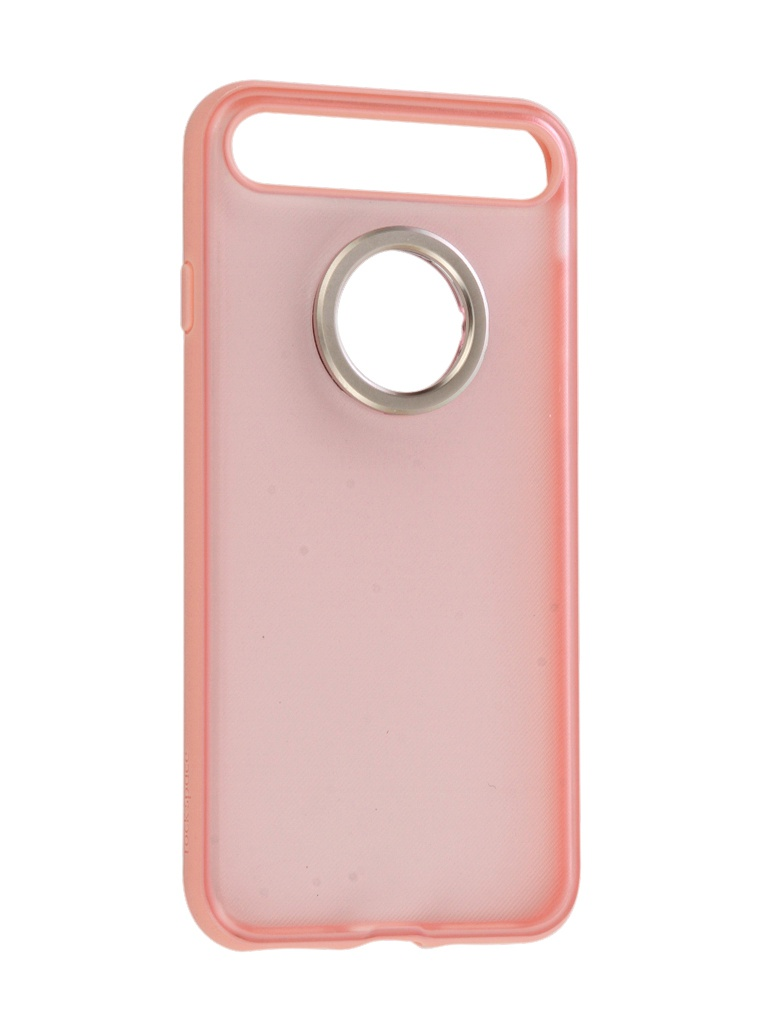 Чехол Rock для APPLE iPhone 7 Space Ring Holder Light-Pink 47550 цена 2017