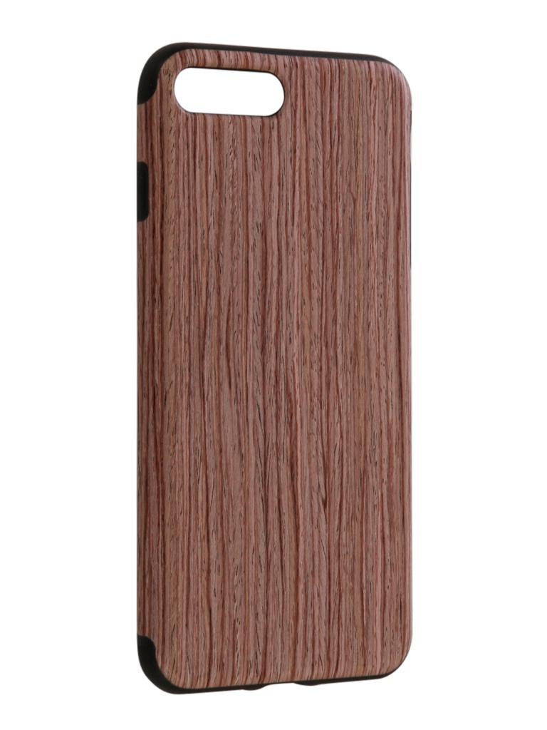 Аксессуар Чехол Rock для APPLE iPhone 7 Plus Origin Grained Sandalwood аксессуар чехол ipapai для iphone 6 plus ассорти морской