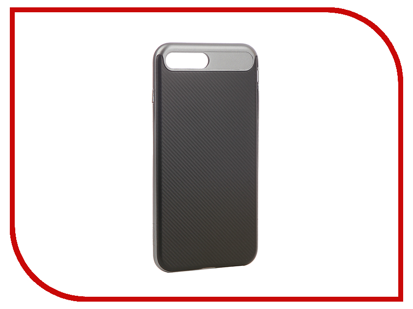все цены на  Аксессуар Чехол Rock Vision для iPhone 7 Plus Grey 47956  онлайн