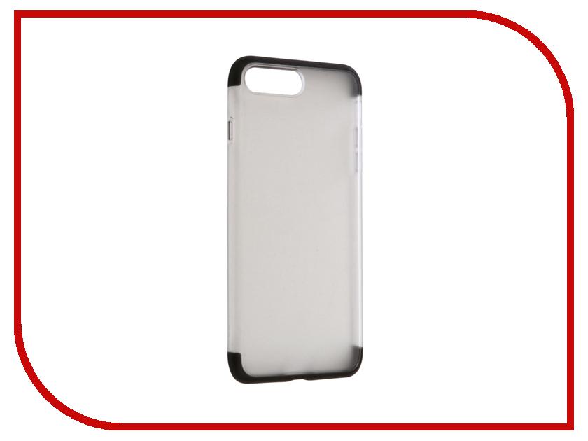 Аксессуар Чехол Rock Cheer для iPhone 7 Plus Black 47642 аксессуар чехол rock touch series silicone для iphone 7 plus rpc1153 light blue