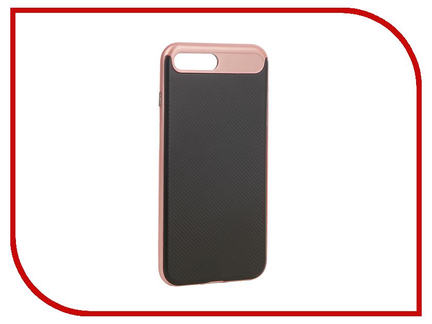 Аксессуар Чехол Rock Vision для iPhone 7 Plus Pink-Gold 47970 аксессуар чехол rock touch series silicone для iphone 7 plus rpc1153 light blue