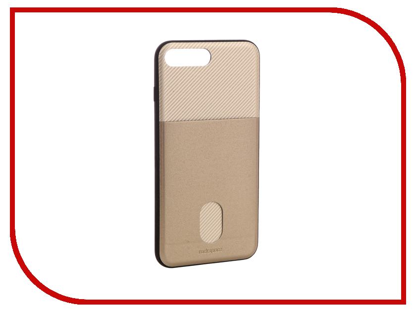 Аксессуар Чехол ROCK Space Cana для iPhone 7 Plus Gold 63048 аксессуар чехол rock space guard g2 для iphone 7 plus transparent white 47475