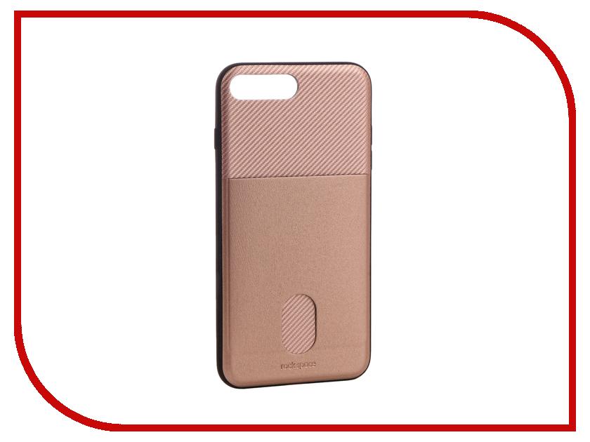 Аксессуар Чехол ROCK Space Cana для iPhone 7 Plus Pink-Gold 63192 аксессуар чехол rock space guard g2 для iphone 7 plus transparent white 47475