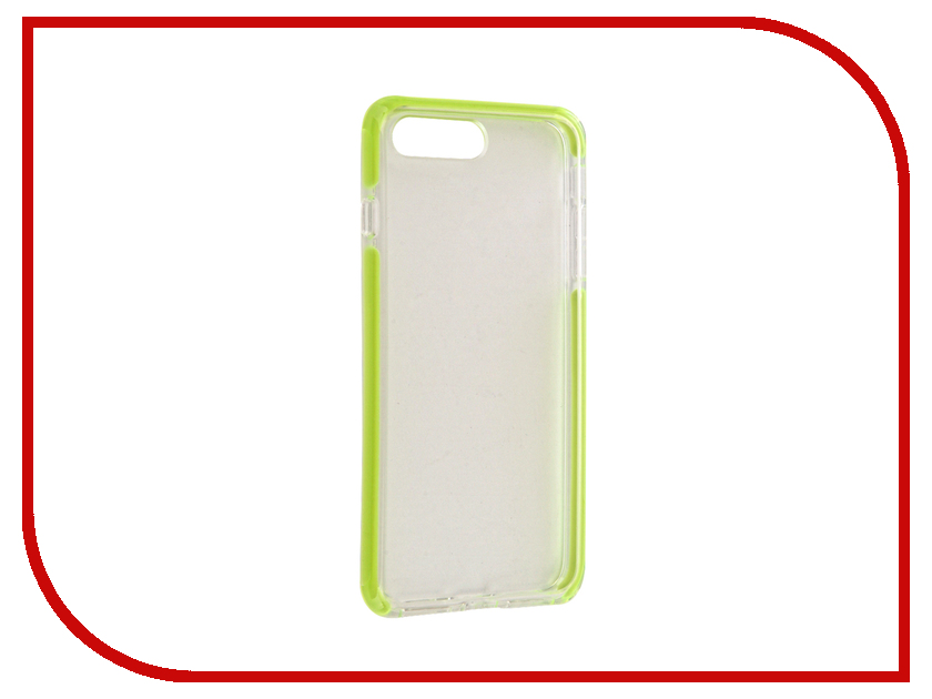 Аксессуар Чехол ROCK Space Guard G2 для iPhone 7 Plus Transparent-Green 47468