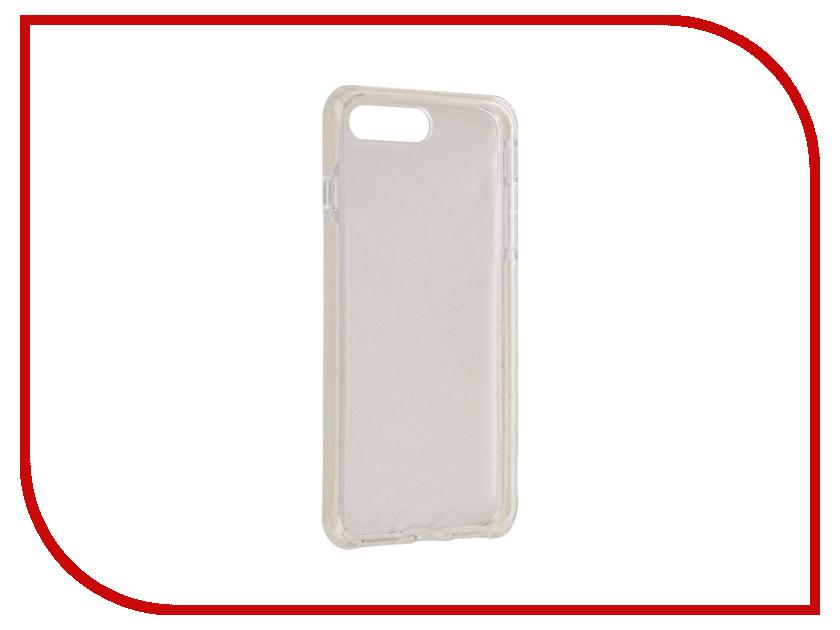 Аксессуар Чехол ROCK Space Guard G2 для iPhone 7 Plus Transparent-White 47475 аксессуар чехол rock space guard g2 для iphone 7 plus transparent white 47475