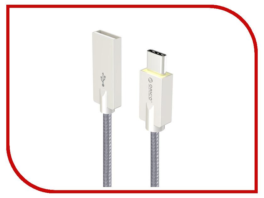 Аксессуар Orico HCU-10 USB Type A - USB Type C Black кабели orico кабель microusb orico adc 10