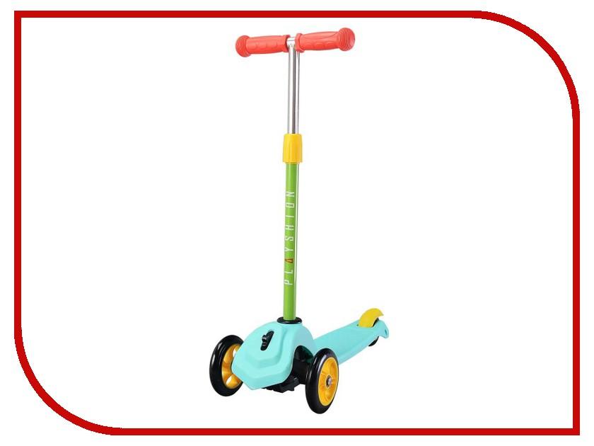 Самокат Playshion Mini Turquoise с блокировкой колес игрушки петушки мягкие